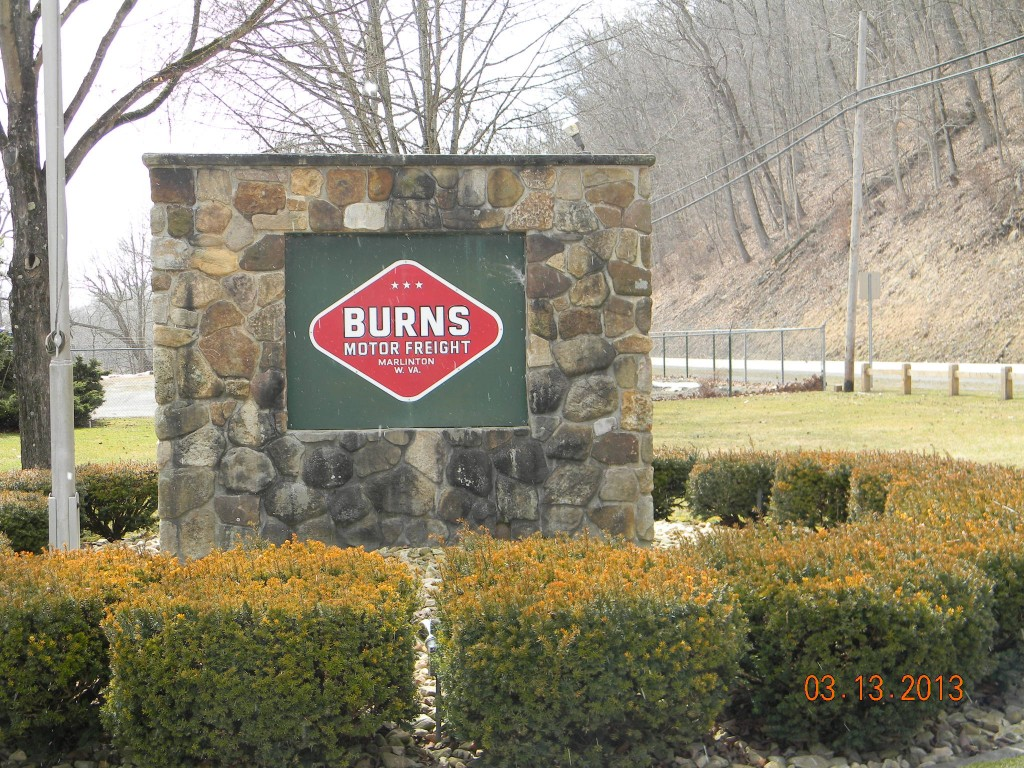 Burns sign